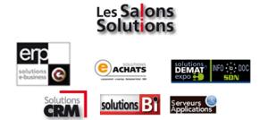LEs Salons Solutions au CNIT, Paris la Défense, les 1 et 2 octobre 2014