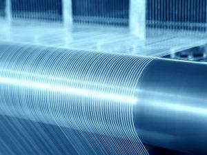 Tissage fils de carbone