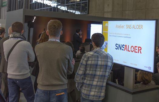 SITL 2018 : Atelier SNS ALOER – Etat de l'Art des entrepôts E-commerce