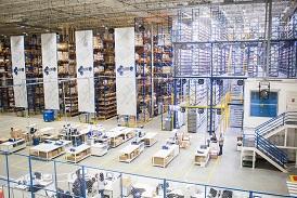 Warehouse : entrepot et transtockeur