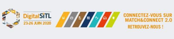 SITL 2020 Digitale - Logo Match & Connect